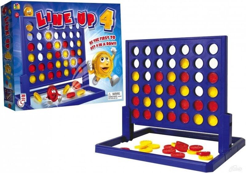 Žaidimas Line Up 4, Top Games, 3537 kaina ir informacija | Lavinamieji žaislai | pigu.lt