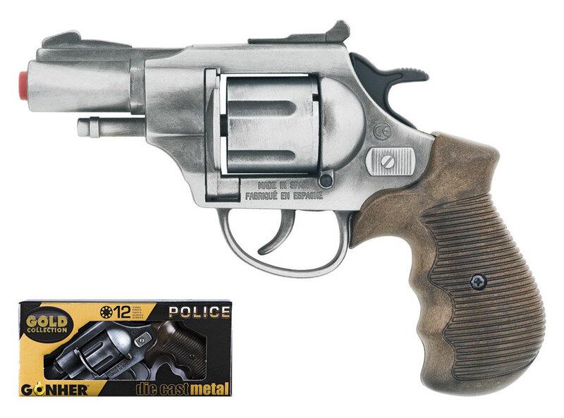 Žaislinis policininko pistoletas Gonher, 38/1 kaina ir informacija | Žaislai berniukams | pigu.lt