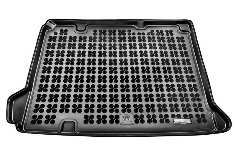 Guminis bagažinės kilimėlis Citroen C4 su žemadažniu 2010--> /230135 kaina ir informacija | Modeliniai bagažinių kilimėliai | pigu.lt
