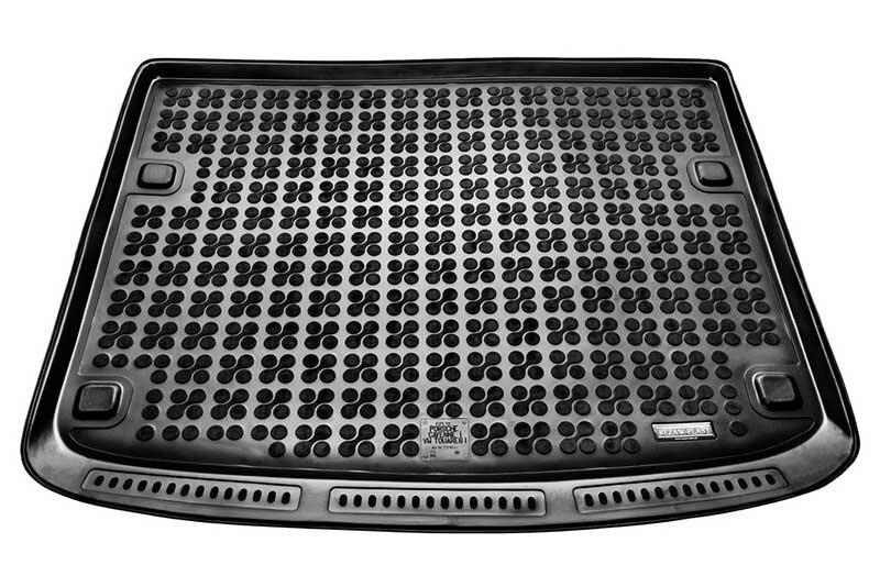Guminis bagažinės kilimėlis Porsche CAYENNE 2002-2010 /231834 kaina ir informacija | Modeliniai bagažinių kilimėliai | pigu.lt