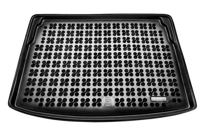 Guminis bagažinės kilimėlis Toyota AURIS HYBRID su Comfort pak. viršut.bagaž. 2013--> /231749 kaina ir informacija | Modeliniai bagažinių kilimėliai | pigu.lt