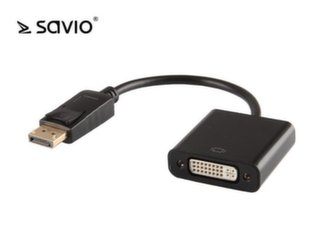 SAVIO ADAPTER DISPLAYPORT - DVI 24 PIN CL-91