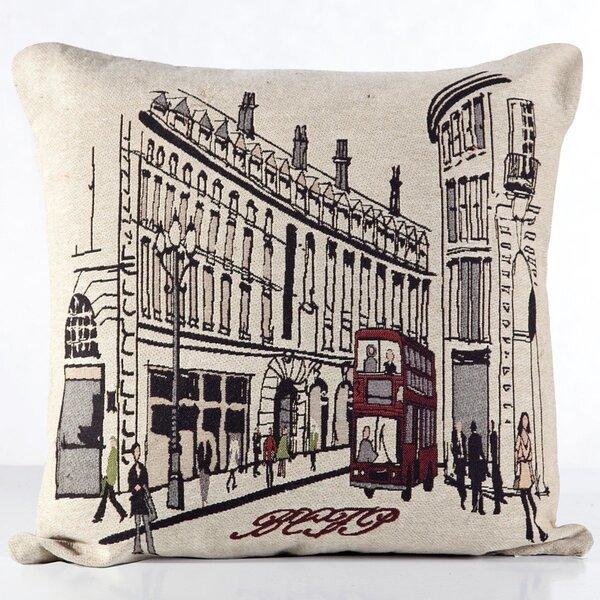 Dekoratyvinis pagalvės užvalkaliukas City 45x45 cm, 2 vnt kaina ir informacija | Dekoratyvinės pagalvėlės | pigu.lt