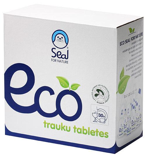 Tabletės indaplovei SEAL ECO, 30 vnt. kaina ir informacija | Indų plovimo priemonės | pigu.lt