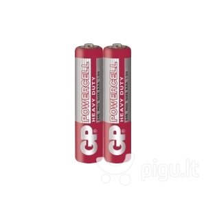 GP Powercell elementai R03 (AAA) kaina ir informacija | Elementai | pigu.lt