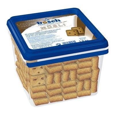 Bosch sausainiai šunims Muesli 1kg kaina ir informacija | Skanėstai šunims | pigu.lt