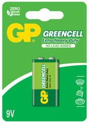 GP Greencell elementai 6F22 (9V)