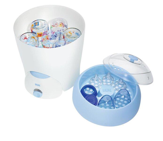 Garinis sterilizatorius 5-iems buteliukams NUK Vapo 2 in 1 kaina ir informacija | Maitinimo priemonės | pigu.lt