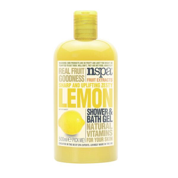 Citrinų aromato dušo želė NSPA 500 ml kaina ir informacija | Dušo želė, muilas | pigu.lt