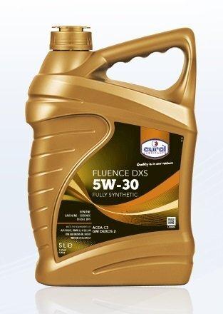 Variklio alyva EUROL Fluence DXS 5W30, 5L kaina ir informacija | Variklinės alyvos | pigu.lt