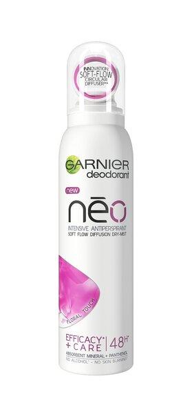 Purškiamas antiperspirantas Garnier Neo Floral Touch 150 ml