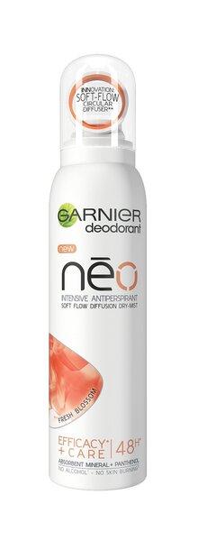 Purškiamas antiperspirantas Garnier Neo Fresh Blossom 150 ml kaina ir informacija | Dezodorantai | pigu.lt