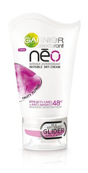 Kreminis dezodorantas Garnier Neo Fruity Flower Intensive 40 ml kaina ir informacija | Dezodorantai | pigu.lt