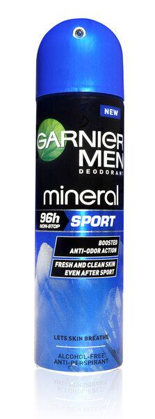 Purškiamas dezodorantas Garnier Men Mineral Sport 150 ml kaina ir informacija | Dezodorantai | pigu.lt