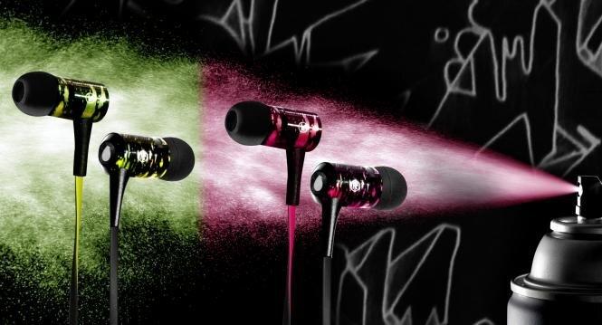 Įstatomos ausinės SPRAY IPHF13GRN, Žalios kaina ir informacija | Ausinės, mikrofonai | pigu.lt