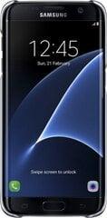 Apsauginis dėklas Samsung Galaxy S7 Edge, juodas
