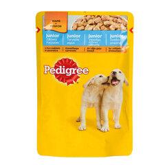 Pedigree Junior konservuotas ėdalas šuniukams su vištiena 100g