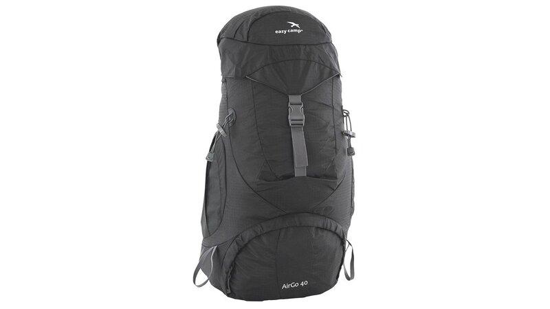 Turistinė kuprinė Easy Camp AirGO 40 Black kaina ir informacija | Kuprinės ir krepšiai | pigu.lt