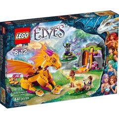 41175 LEGO® Elves Ugninio drakono lavos urvas