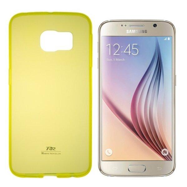 Apsauginis dėklas Roar Ultra Slim 0.3mm skirtas Samsung Galaxy J5 (J500F), Geltonas kaina ir informacija | Telefono dėklai | pigu.lt