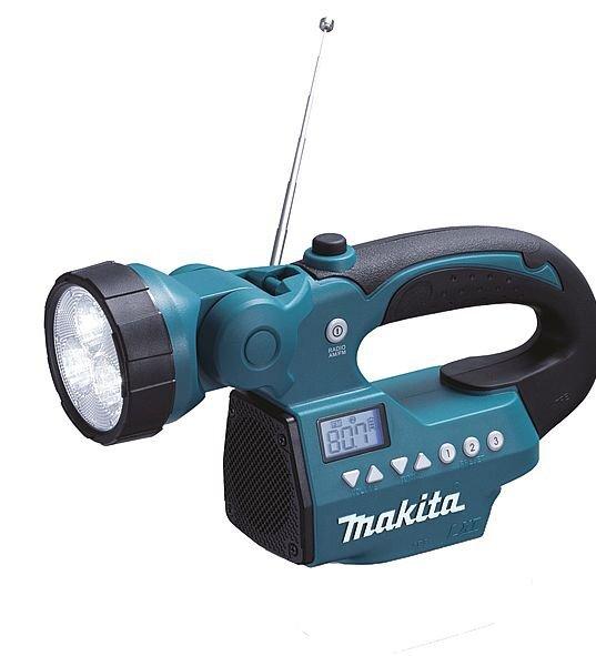 Makita BMR050 (Radijas-prožektorius) kaina ir informacija | Radijo imtuvai ir žadintuvai | pigu.lt