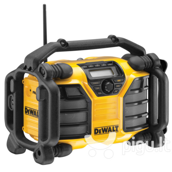 DEWALT XR DCR016 kaina ir informacija   Radijo imtuvai ir žadintuvai   pigu.lt