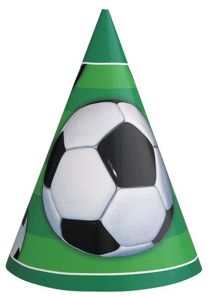 Kepuraitės Futbolas 8 vnt. kaina ir informacija | Dekoracijos, indai šventėms | pigu.lt