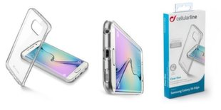 Samsung Galaxy S6 Edge dėklas CLEAR DUO Cellular permatomas