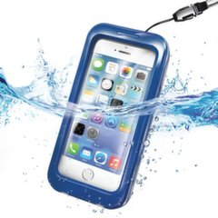 WATERPROOF universalus dėklas iPhone 5 Celly mėlynas