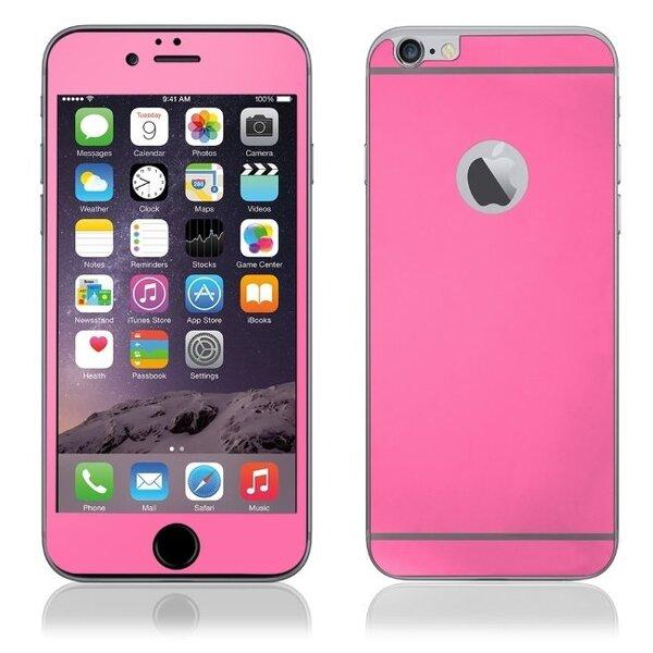 Apsauginis stiklas KLT Extreeme Shock skirtas Apple iPhone 6 Plus/6S Plus, Abiejų pusių, Rožinis kaina ir informacija | Apsauginės plėvelės telefonams | pigu.lt