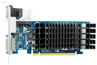 Asus GF GT210 1GB GDDR3 PCIE EN210 SILENT/DI/1GD3/V2(LP) kaina ir informacija | Vaizdo plokštės (GPU) | pigu.lt