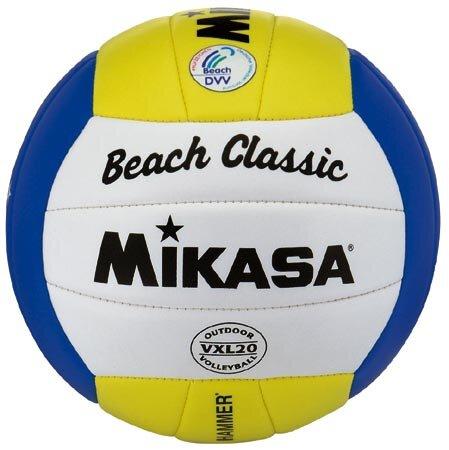 Paplūdimio tinklinio kamuolys Mikasa VXL 20 kaina ir informacija | Tinklinis | pigu.lt