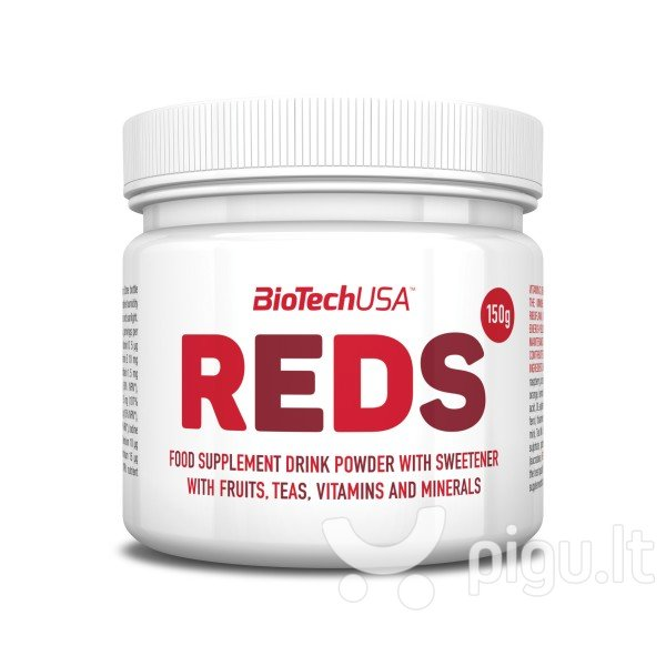 Biotech Reds 150 g. kaina ir informacija | Maisto papildai | pigu.lt