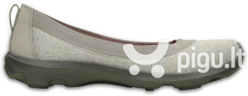 Bateliai moterims Crocs™ Busy Day Heathered Flat kaina ir informacija | Bateliai, basutės | pigu.lt