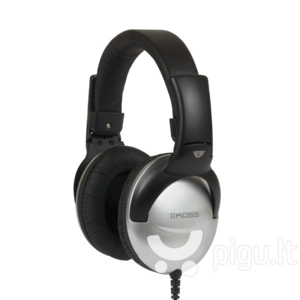 Laidinės triukšmą slopinančios ausinės su mikrofonu KOSS QZPRO, Juodos kaina ir informacija | Ausinės, mikrofonai | pigu.lt