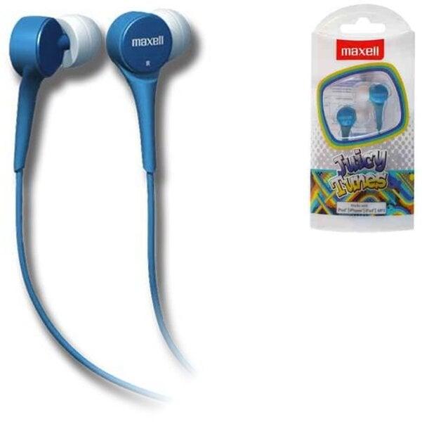 Maxell Juicy Tunes ausinės (mėlynos) kaina ir informacija | Ausinės, mikrofonai | pigu.lt
