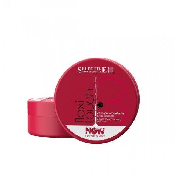 Elastinė plaukų modeliavimo želė-vaškas Selective Flexy Touch 100 ml kaina ir informacija | Plaukų formavimo priemonės | pigu.lt