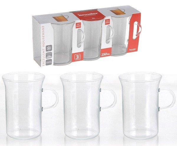 Kavos puodeliai, 3 vnt kaina ir informacija | Taurės, puodeliai, ąsočiai | pigu.lt