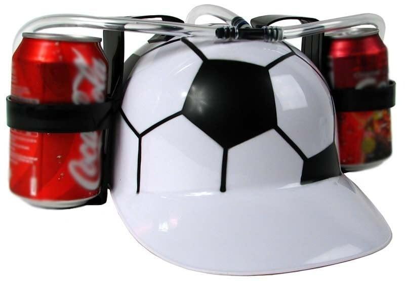Alaus šalmas - futbolo kamuolys kaina ir informacija | Originalios dovanos vyrams | pigu.lt
