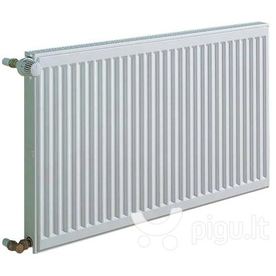 KERMI radiatorius 0.6 x 0.7 m, dvigubas, šoninio pajungimo. kaina ir informacija | Centrinio šildymo radiatoriai | pigu.lt