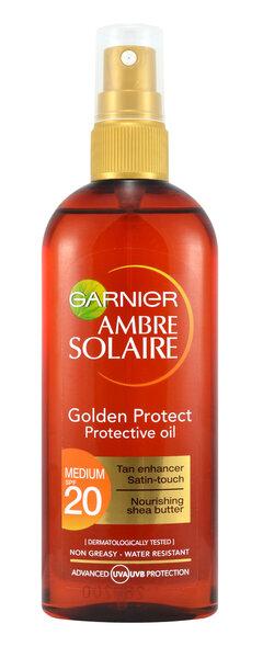 Apsauginis purškiamas įdegio aliejus Garnier Ambre Solaire SPF20 150 ml kaina ir informacija | Apsauginiai, soliariumo kremai | pigu.lt