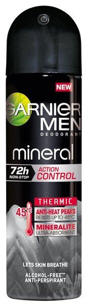 Purškiamas antiperspirantas vyrams Garnier Mineral 150 ml kaina ir informacija | Dezodorantai | pigu.lt
