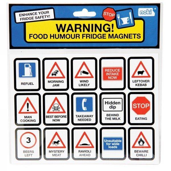Šaldytuvo magnetukai - kelio ženklai kaina ir informacija | Kitos originalios dovanos | pigu.lt
