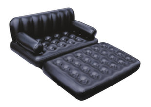 Pripučiama sofa-lova Bestway 5 in 1 su elektrine pompa, 188x152x64 cm