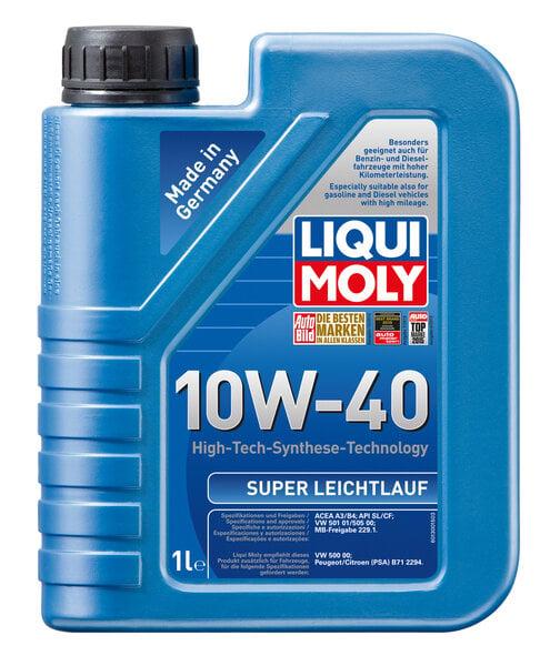 Pusiau sintetinė variklinė alyva Liqui-Moly SAE 10W-40, 1L kaina ir informacija | Variklinės alyvos | pigu.lt