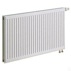 KERMI radiatorius 0.5 x 0.4 m, viengubas, apatinio pajungimo su integruotu ventiliu.