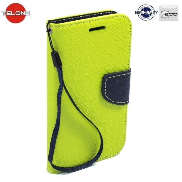 Atverčiamas dėklas Telone Fancy Diary Bookstand Case LG Zero/Class, Šviesiai žalia/Mėlyna kaina ir informacija | Telefono dėklai | pigu.lt