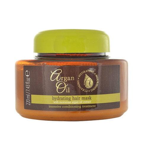 Drėkinamoji plaukų kaukė Argan Oil 220 ml kaina ir informacija | Priemonės plaukų stiprinimui | pigu.lt