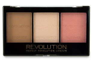 Veido modeliavimo paletė Makeup Revolution London Ultra Sculpt & Contour 11 g