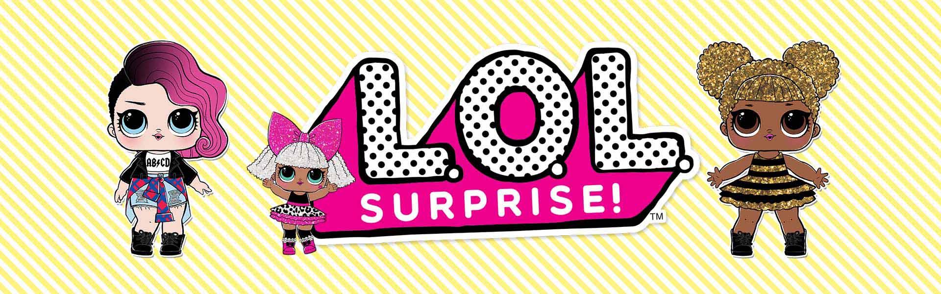 Kartoninė dėžutė su rankenėle L.O.L. Surprise                             L.O.L.